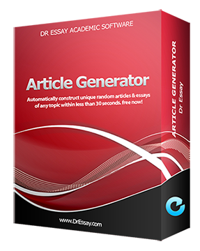 Dr Essay Article Generator
