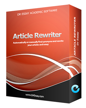 Dr Essay Article Rewriter