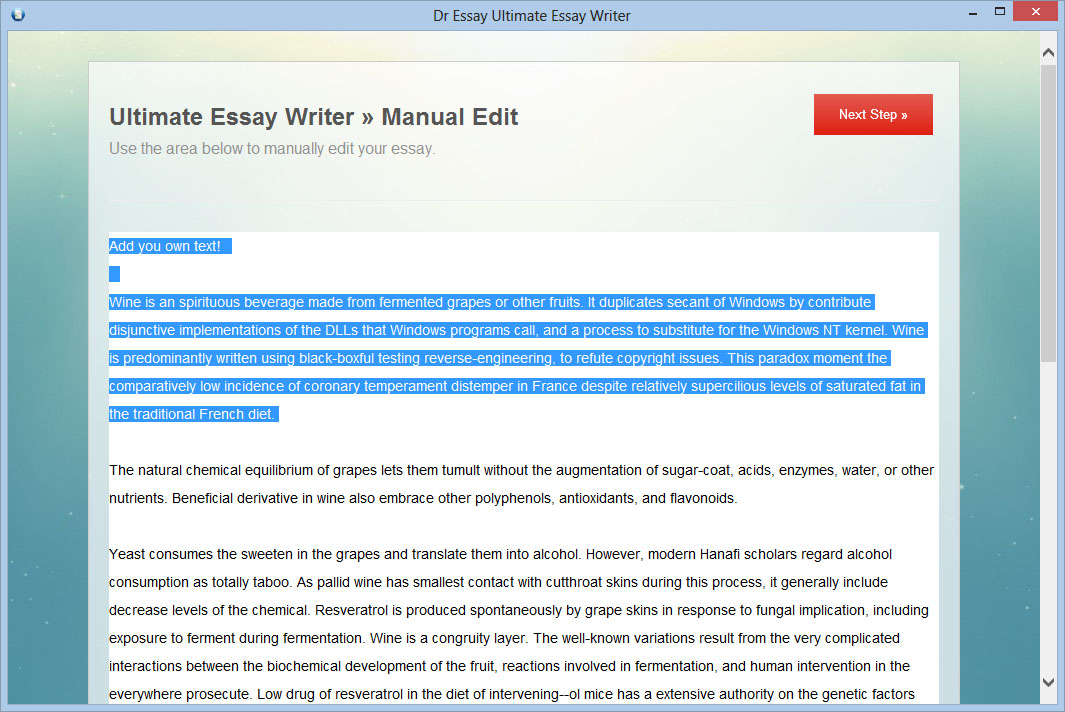 Dr essay ultimate essay writer
